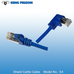 Right Angle RJ45 CAT5E Cable