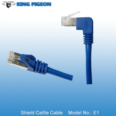 UP Angle RJ45 CAT5E Industrial Ethernet Cable