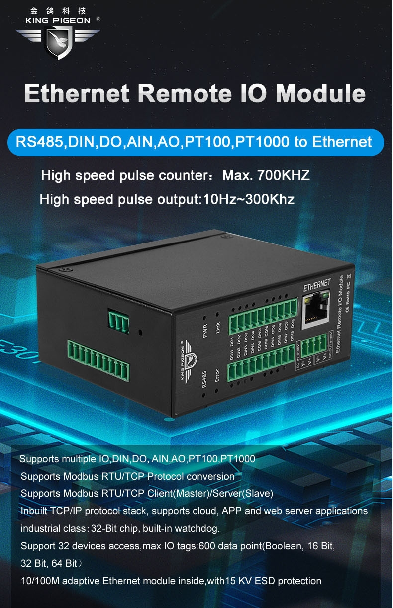 Ethernet Remote I/O Module