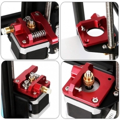 CR10 red extruder