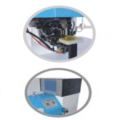 Automatic Gluing Wallet Zipper Edge Covering Machine