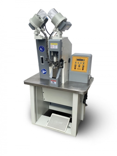 Automatic Double-side Eyeletting Machine