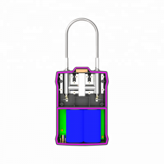 MC180 - 3G RFID lock GPS padlock for container and asset tracking