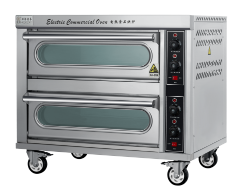 8.8KW Commercial Electric Cookie and Roasted Bakery Oven (2 desk/2 Plate) Knob Series