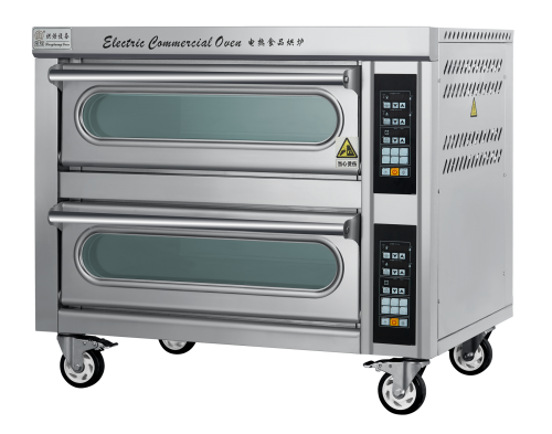 8.8KW Micro Computer Series Electric Bakery Oven for cookie baking (2 Desk /2 Tray)