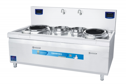 Kitchen Induction Stove with Double Cooking and Heating