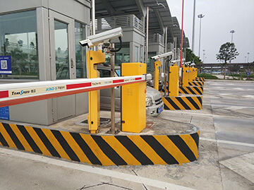 Parking Barrier for Guangzhou Baiyun Airport