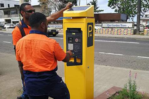 Parking Meter - Fiji Project