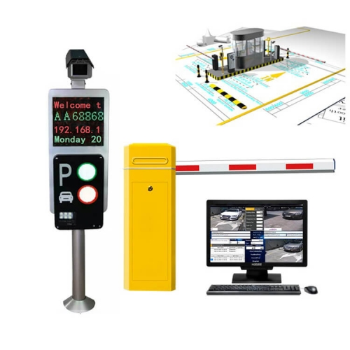 License Plate Recognition Parking System