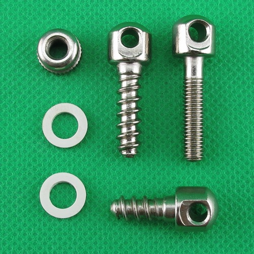 Nickel Plated 115 B BASE SCREWS