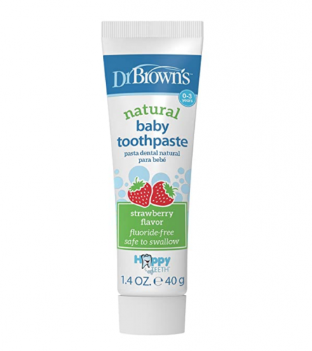 Dr. Brown's  Natural Baby Toothpaste Fresa 40g