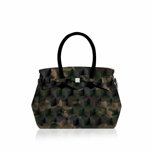 Miss Plus Print (CAMOUFLAGE GREEN)