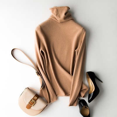 Cashmere Under Sweater ( Light Camel)