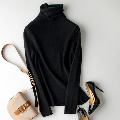 Cashmere Under Sweater (Black)