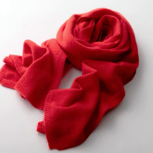 Cashmere scarf ( Red)