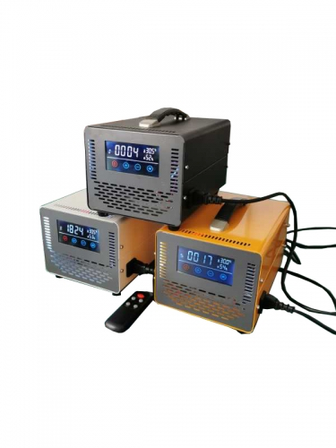 mini lcd Industrial touch screen ozone generator with display sterilization