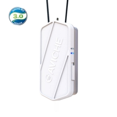 Aviche M1 Version 3.0 white Necklace 100 Million Ion Wearable mini Air Purifier for Virus Thailand