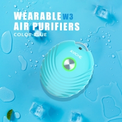 Aviche negative ion necklace small mini usb wearable air purifier portable philippines Thailand Singapore