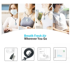 AVICHE W3 version 3.0 new upgrade personal wearable portable mini cute air purifier usb philippines
