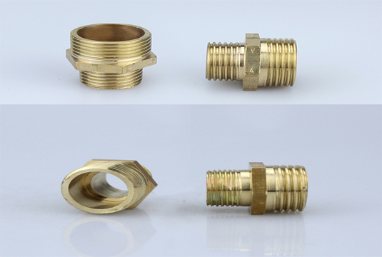 brass nut, brass faucet, aerator size, plumbing fitting,faucet fitting