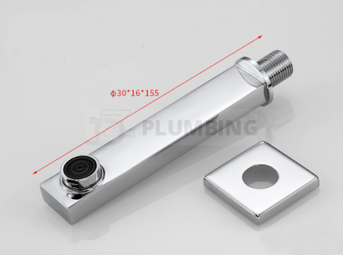 Square Shower Faucet Arm
