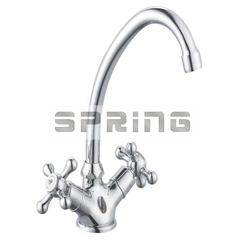 Two Handles Basin Faucet