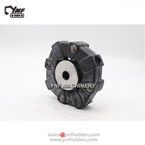 4605442 flexible rubber coupling ass'y with hub for hitachi excavator pump connector