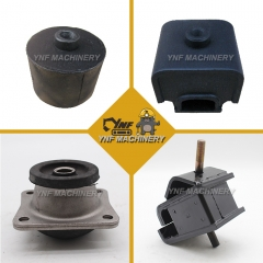 Excavator Engine Mounts Parts for Mitsubishi 6D14 6D22 6D31 6D34 Engine Rubber Engine Mount
