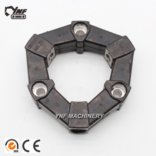 1602000300 CF-A-025 Excavator Spare Part Flexible Rubber Coupling TB175 Pump Coupling