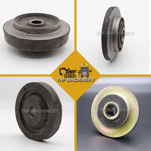 Case Caterpillar Excavator Engine Rubber Mount Shock Absorber Cushion