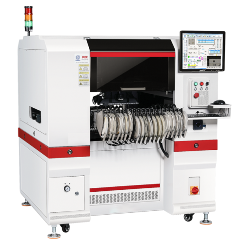 Desktop pick and place machine for SMT with 6 nozzles, chip mounter SMT-π6(SMT-Pi6)