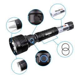 TS30S USB C Rechargeable Flashlight Powerful SBT90.2 LED 6000lm Anduril Version
