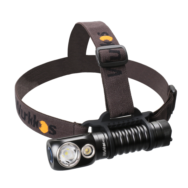 HD20 USB C Rechargeable Headlamp 21700 Flashlight 2000lm Dual LED LH351D and XPL with Magnetic Tail