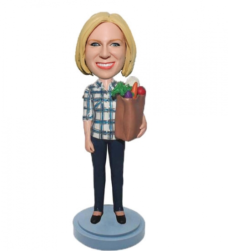 Personalized bobblehead gift
