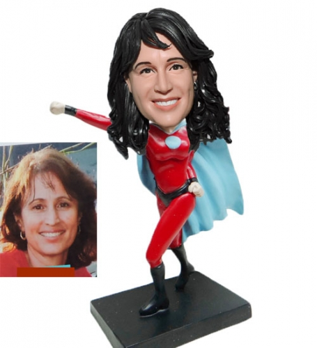 Supergirl Bobblehead of Yourself