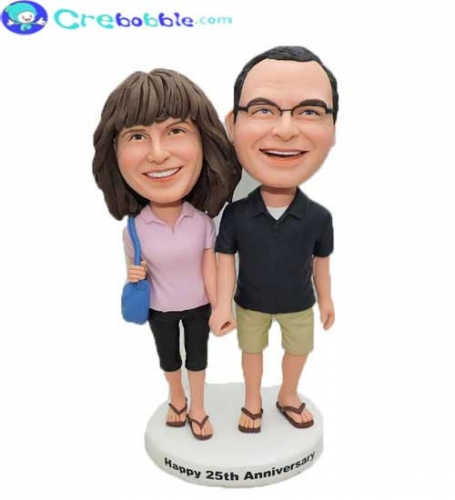 Shopping Couple Bobbleheads