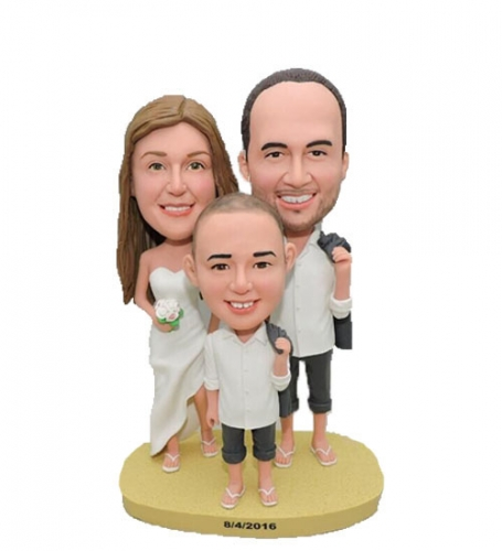 Custom Cake Topper Family