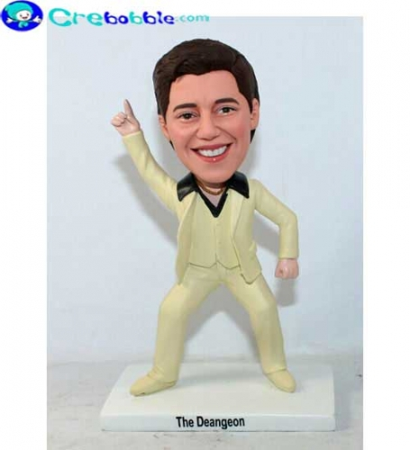 Saturday Night Fever cool dashboard bobbleheads