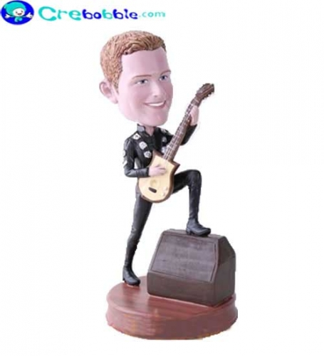 Cool music/guitar bobbleheads