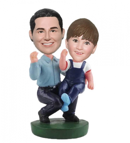 Personalized Bobblehead Father's Day Gift