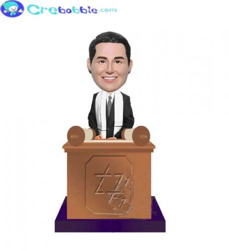 Bar Mitzvah At Pulpit bobbleheads