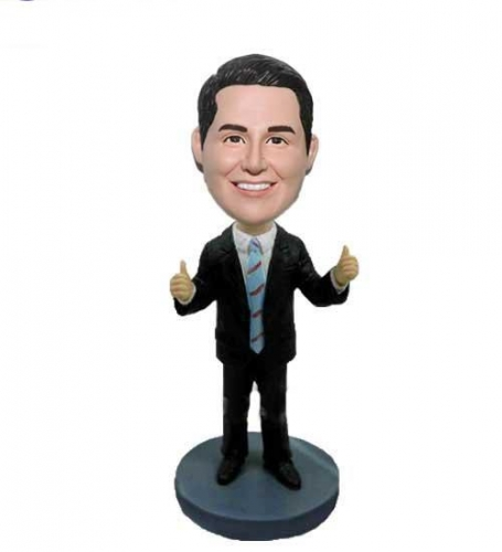 Personalized Bobblehead Boss's Day