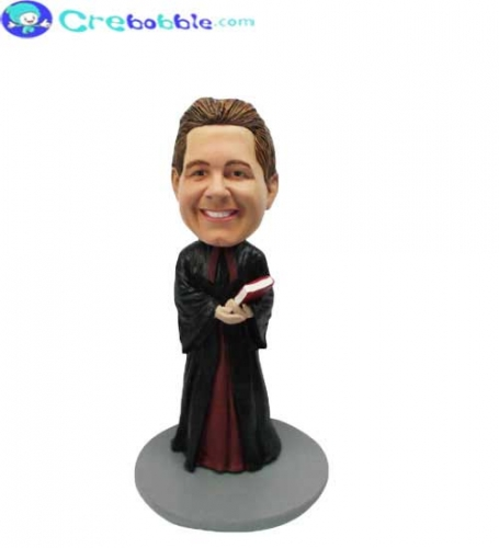 Clergy bobblehead doll