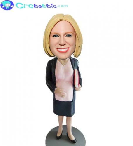 Personalized Bobblehead for mother