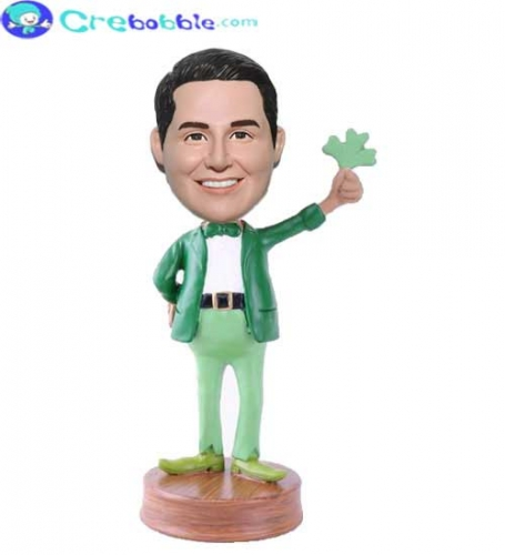 Personalized bobbleheads St Patricks Day