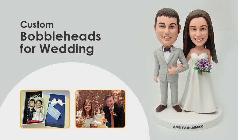 custom bobbleheads for wedding