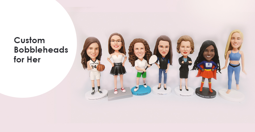 custom bobbleheads for her