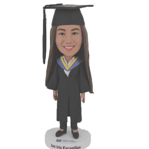 Make Your Own Graduation Bobblehead