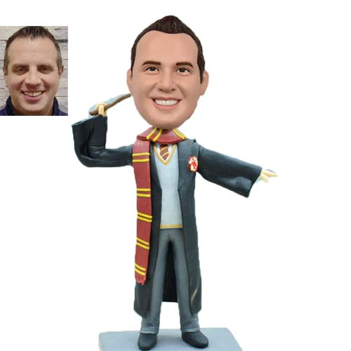 Personalized Graduation Bobblehead Harry Potter