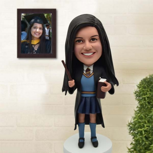 Unique Custom Bobbleheads Graduation from Photo